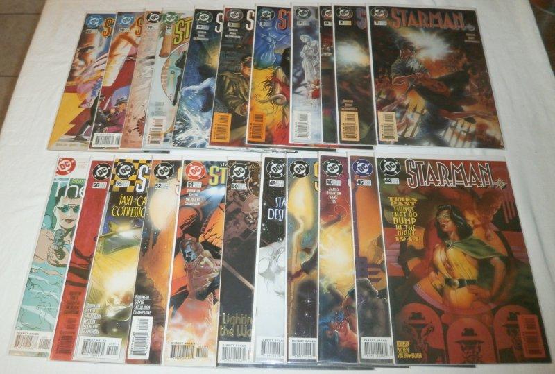 Starman   vol. 2   #1,2,4,5,8-10,27,30,39,40,44-46,48-52,55,56 + (set of 22)