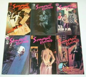 Somerset Holmes #1-6 VF/NM complete series BRUCE JONES pacific eclipse 2 3 4 5