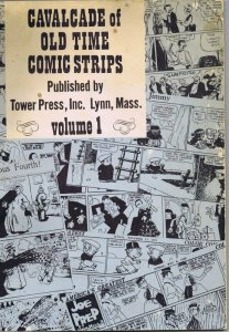 ORIGINAL Vintage 1967 Cavalcade of Old Time Comic Strips Volume 1 Oversized Book