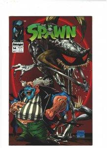 Spawn #14 VF+ 8.5 Image Comics Todd McFarlane, vs. Violator