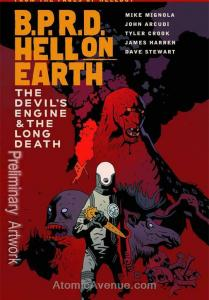 B.P.R.D. Hell on Earth TPB #4 FN; Dark Horse | save on shipping - details inside