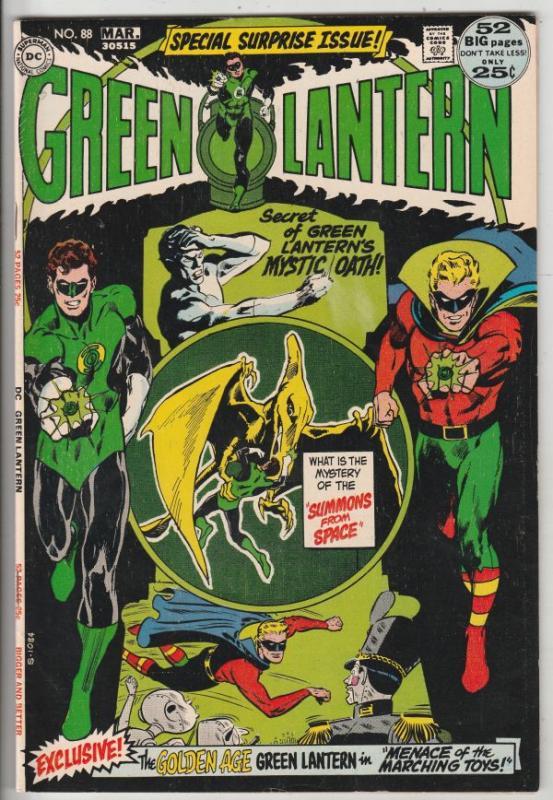 Green Lantern #88 (Mar-72) VF/NM High-Grade Green Lantern