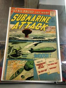 Submarine Attack 19 VG  Charlton Comics (Nov. 1959)