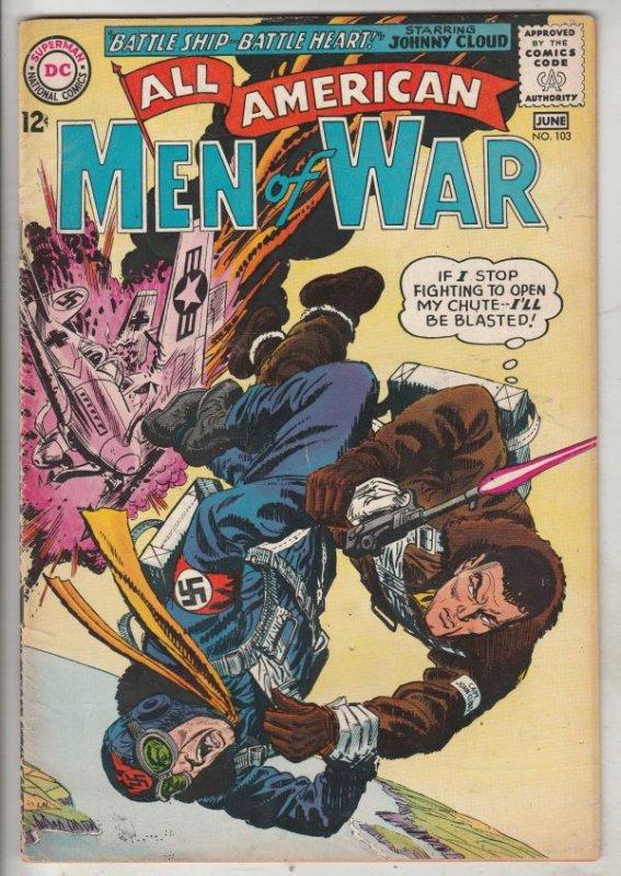 All-American Men of War #103 (Jun-64) VF High-Grade Johhny Cloud