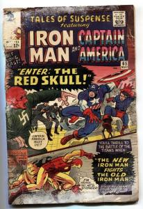 TALES OF SUSPENSE #66 1965 comic book 1ST Silver-Age RED SKULL bargain