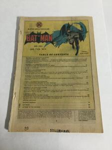 Batman 254 Coverless DC Comics