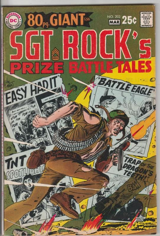 Our Army at War #203 (Mar-69) VF High-Grade Easy Company, Sgt. Rock
