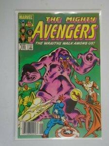 Avengers #244 Newsstand edition 5.0 VG FN (1984 1st Series)