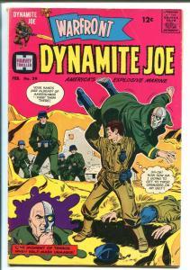 WARFRONT #39 1967-HARVEY-DYNAMITE JOE-WALLY WOOD-HALF MASK-fn
