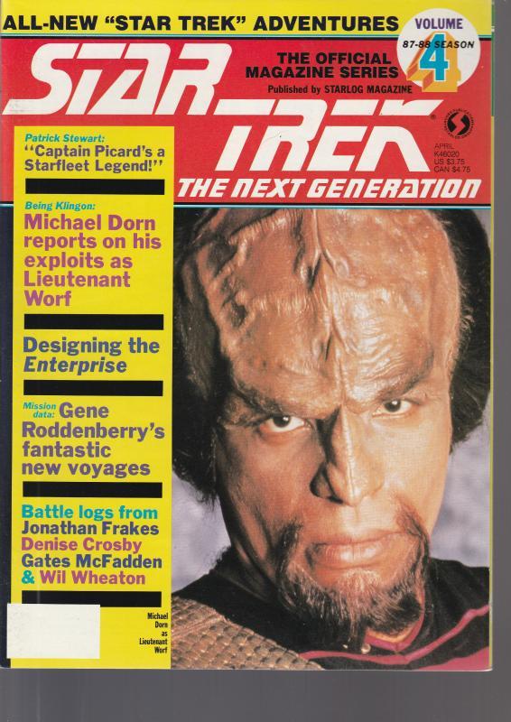Star Trek Next Generation Vol 4