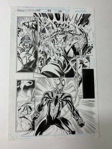 Amazing Spider-man 415 Original Art Pg 22 Mark Bagley 1/2 Splash Ben Reilly
