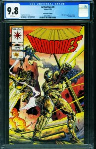 ARMORINES #0-CGC 9.8-Preview edition-Valiant 2053548011