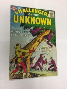 Challengers Of The Unknown 5 3.5 Vg- Very good- Small Puncture Throughout Comic
