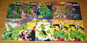 Trollords #1-15 VF/NM complete series + special + 2nd print - troll comics set