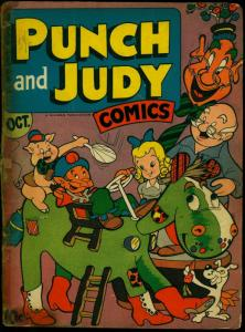 Punch and Judy Vol 2 #3 1946- Golden Age Humor Reading Copy