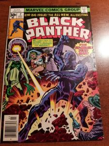 Black Panther #2 1977 Marvel Comics (Please see my other Panther Books for Sale)
