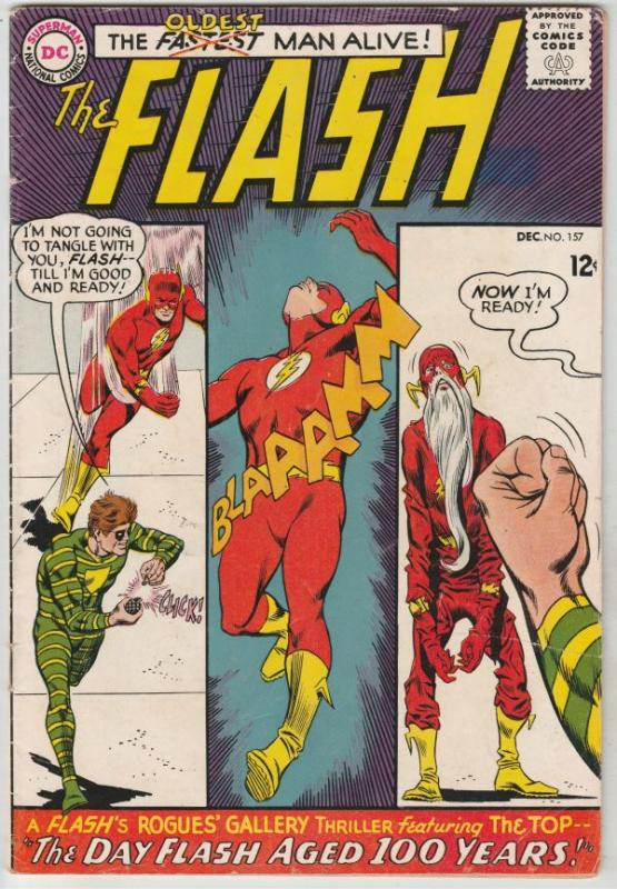 Flash, The #157 (Dec-65) FN+ Mid-High-Grade Flash