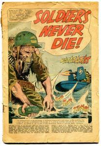 Our Army at War #98 1960-DC- Sgt Rock & Easy Co.-Joe Kubert art-coverless