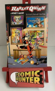 Harley Quinn A Rogue's Gallery The Deluxe Cover Art Collection Hardcover