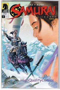 SAMURAI HEAVEN & EARTH #1, NM+, Feudal Japan, Ross, 2006, more in store