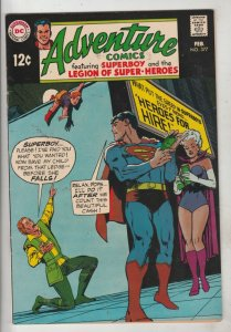 Adventure Comics #377 (Feb-69) NM- High-Grade Legion of Super-Heroes, Superboy