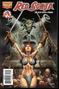Red Sonja #26 (Dynamite Entertainment)- Mel Rubi Cover
