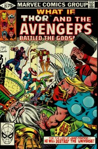 What If... #25 - VF/NM - Thor and the Avengers Battled the Gods?