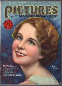 Pictures 7/1926-MacFadden-Norma Shearer-Ghost Stories pulp mag-silent film-FN/VF