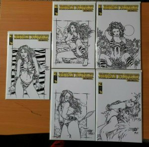 Jungle Fantasy Secrets 0 + 1-4 CENTURY VARIANT Complete Set Run! LTD 100 ~ NM