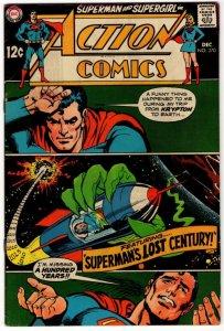 ACTION COMICS #370 (NG) Silver Age DC