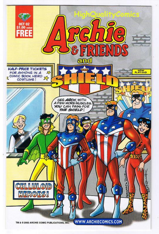 ARCHIE and FRIENDS and SHIELD, Promo, ashcan, 2002, NM