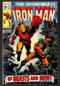 Iron Man #16 FN- 5.5 Marvel Comics