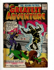 My Greatest Adventure # 80 VG/FN DC Comic Book 1st Doom Patrol Appearance J462