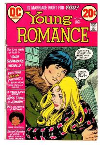 Young Romance #190 comic book 1972-DC-Page Peterson-spicy interior art