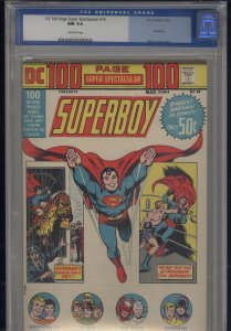 DC 100 Page Super Spectacular # 15   CGC 9.4 NM