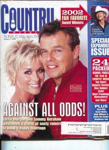 Country Weekly-Lori Morgan-Sammy Kershaw-Alan Jackson-Hank Williams-Jan-2003