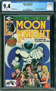 MOON KNIGHT #1 (Marvel, 1980) CGC 9.4 NM