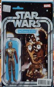 Star Wars Special C-3PO #1 NM CVR B Action Figure Variant