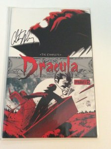 The Complete Dracula #5 Signed Remarked ColtonWorley DF Exclusive W/COA.