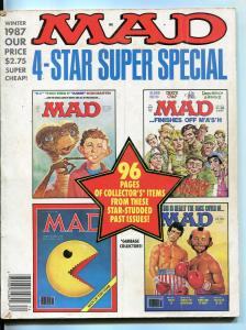 MAD 4-Star Super Special-#61-Winter-1987-Mingo-Kossin-Drucker-Clarke-FN