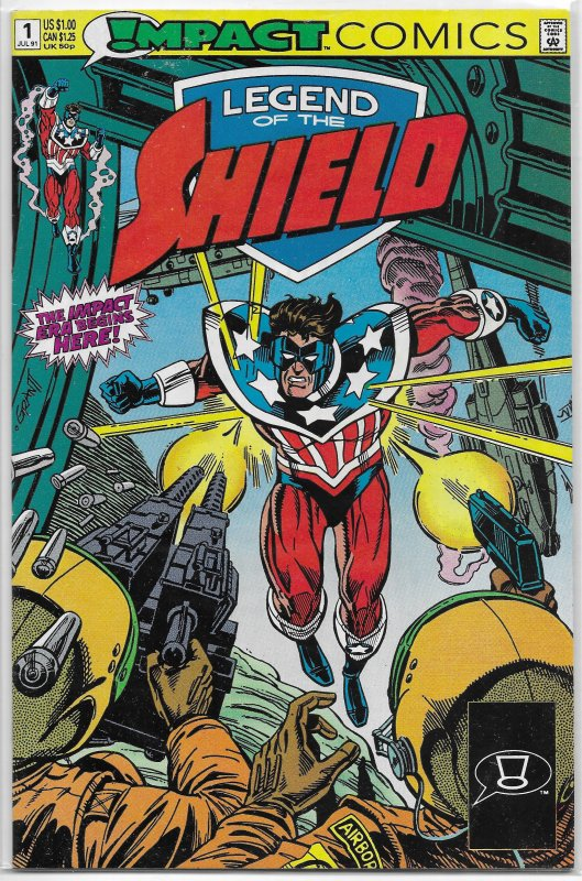 Legend of the Shield   (Impact)   # 1 VG