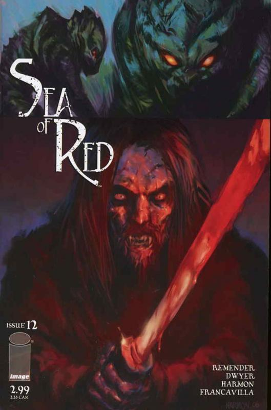 Sea of Red #12 VF/NM; Image | save on shipping - details inside