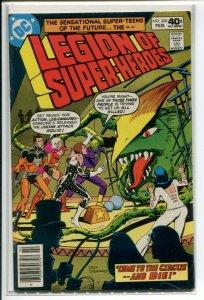 LEGION OF SUPERHEROES (1980 DC) #260 FN A22662