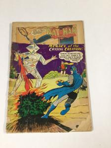 Detective Comics 272 1.5 Missing Top Of Front Cover Dc Silver Age