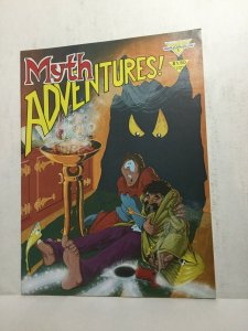 Myth Adventures! 1 Nm Near Mint Magazine Warp Graphics