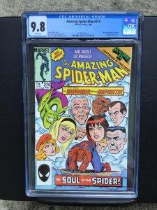 Amazing Spider-man 274 Cgc 9.8 Wp Marvel