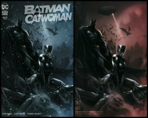 Batman / Catwoman #1 Mattina  Trade & Minimal Set