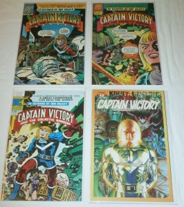 Captain Victory and the Galactic Rangers   #2,4,9, Kirby Genesis #1 (set of 4)