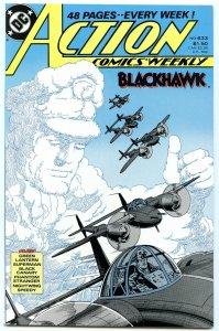 Action Comics Weekly 633 Jan 1989 NM- (9.2)