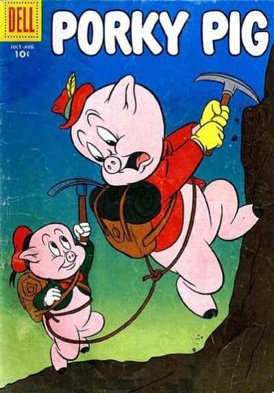 Porky Pig (1942 series) #47, VG (Stock photo)